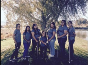 The girls that attended State were: Sarah Isaacs, Florisel Rodriguez, Nayely Medina, Claudia Gutierrez, Miriam Rodriguez, and Shelby Hansen. Sara Vera is shown in the picture but didn't attend State do to an injury.