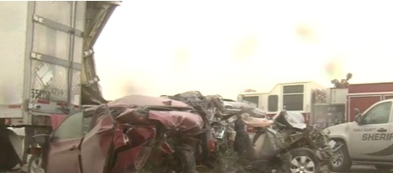 Fatal pile up near Tooele