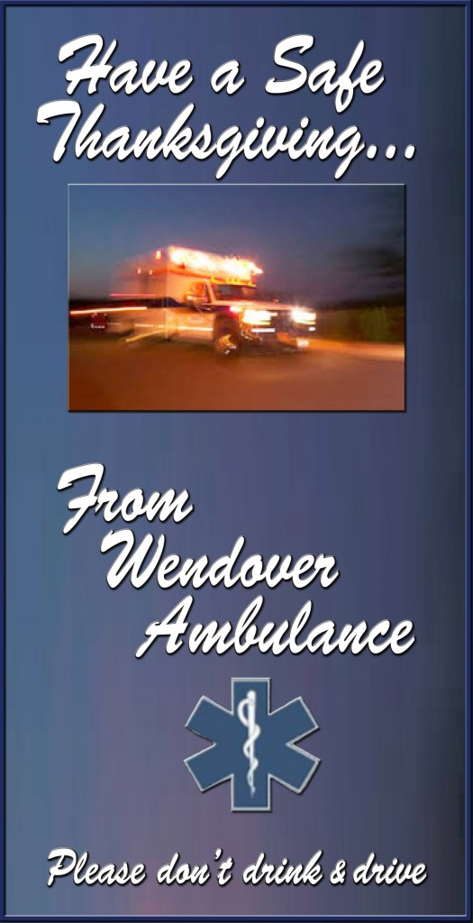 Thanksgiving Ambulance 2015