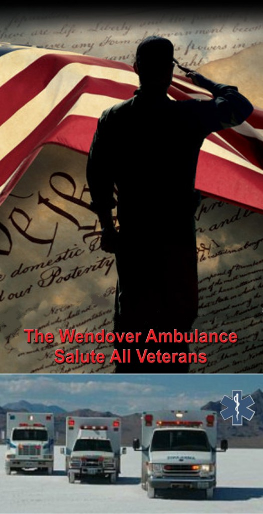 Wendover Ambulance Veterans day 1-4 2015