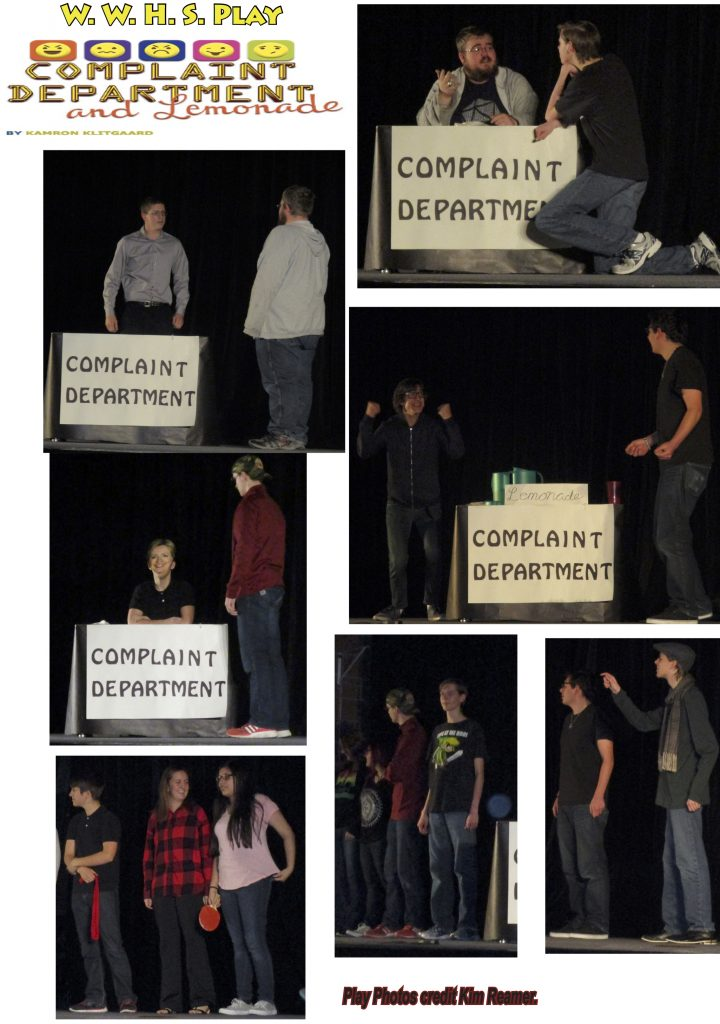 Complaint Department Play